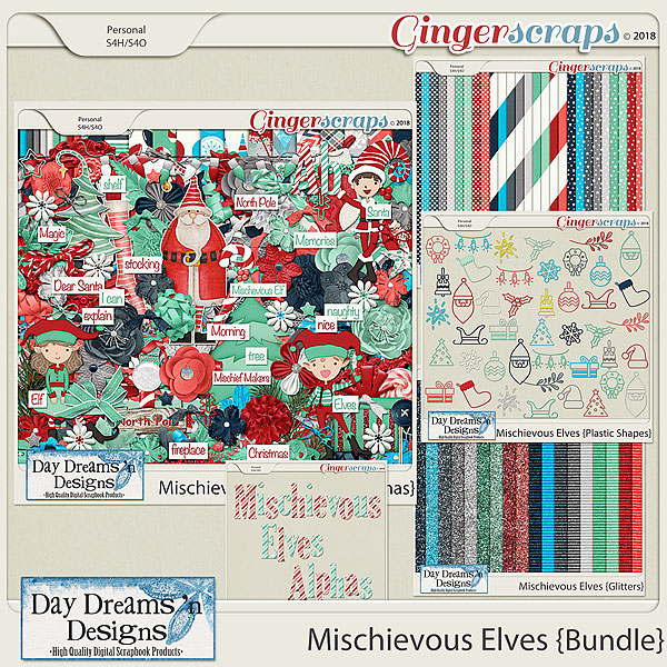 Mischievous Elves {Bundled Collection} by Day Dreams 'n Designs