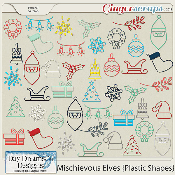 Mischievous Elves {Shapes} by Day Dreams 'n Designs