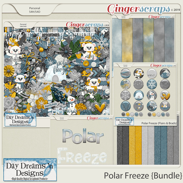 Polar Freeze {Bundled Collection} by Day Dreams 'n Designs