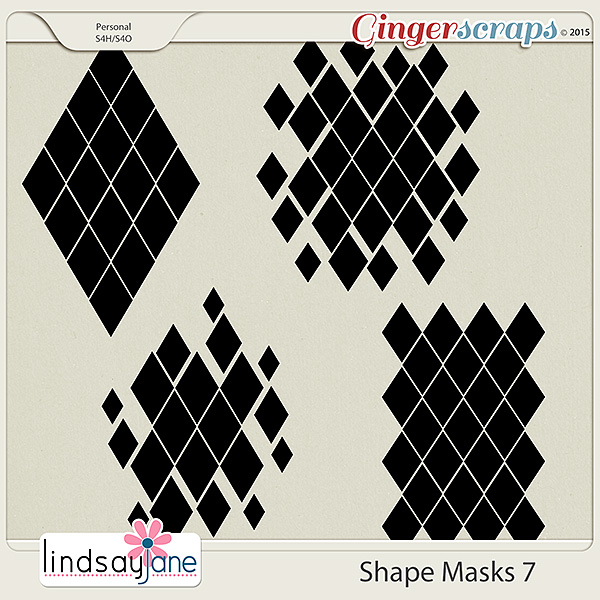 Shape Masks 7 by Lindsay Jane
