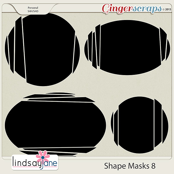 Shape Masks 8 by Lindsay Jane
