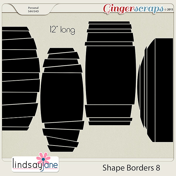 Shape Borders 8 by Lindsay Jane