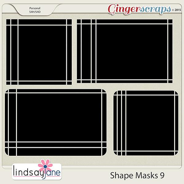 Shape Masks 9 by Lindsay Jane