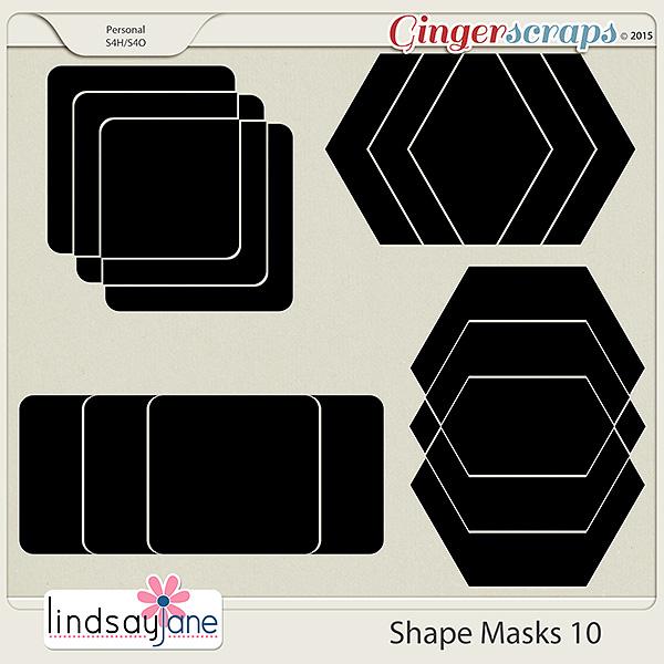 Shape Masks 10 by Lindsay Jane