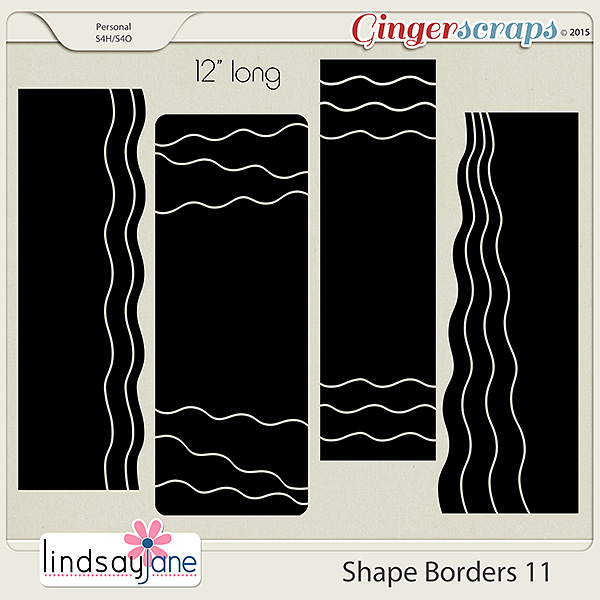 Shape Borders 11 by Lindsay Jane