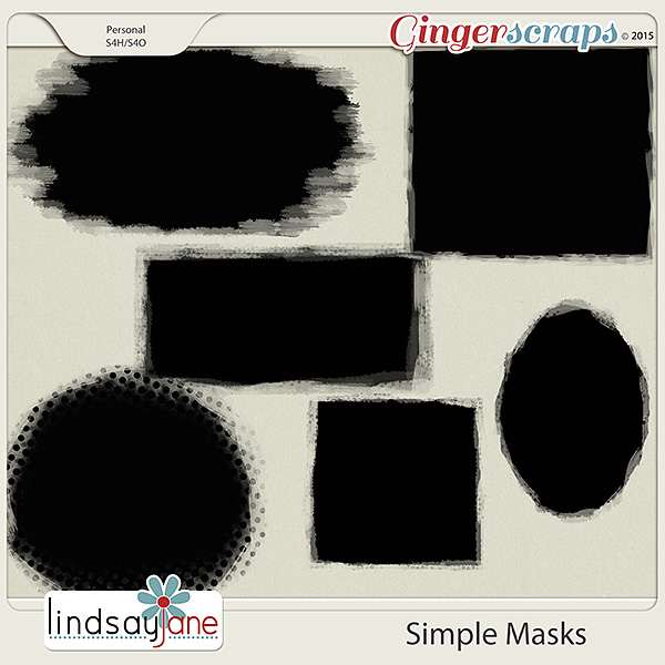 Simple Masks by Lindsay Jane