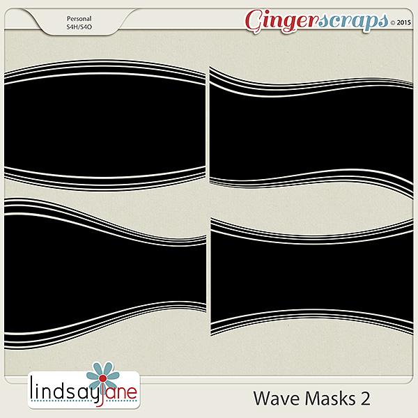 Wave Masks 2 by Lindsay Jane