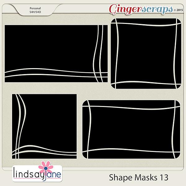 Shape Masks 13 by Lindsay Jane