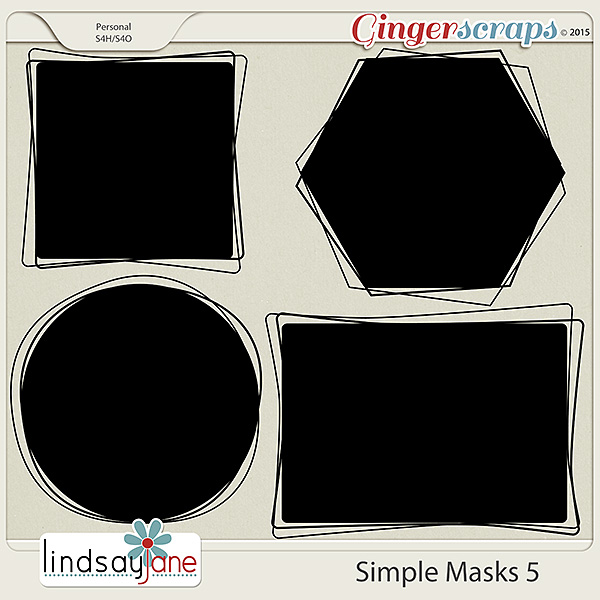 Simple Masks 5 by Lindsay Jane