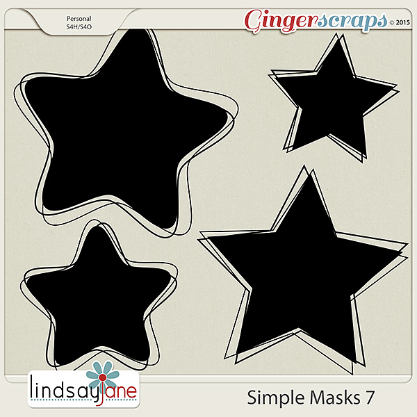Simple Masks 7 by Lindsay Jane