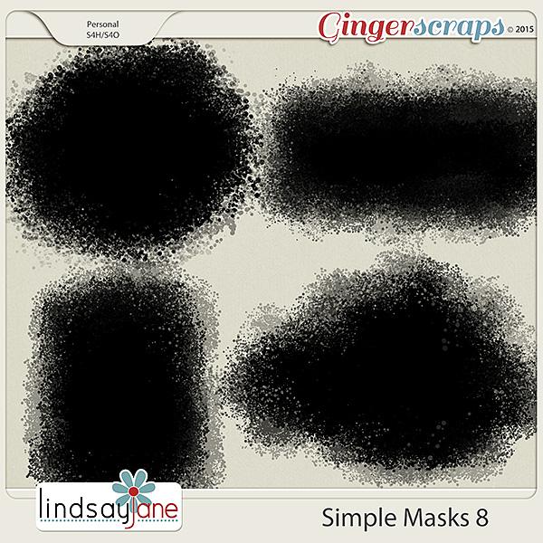 Simple Masks 8 by Lindsay Jane