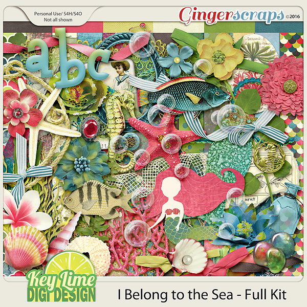 I Belong to the Sea - Kit