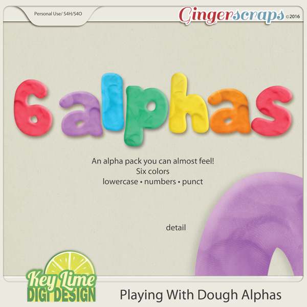 Playing with Dough Alphas