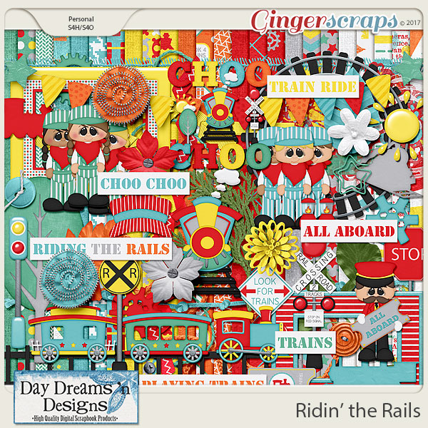 Ridin' the Rails {Kit} by Day Dreams 'n Designs