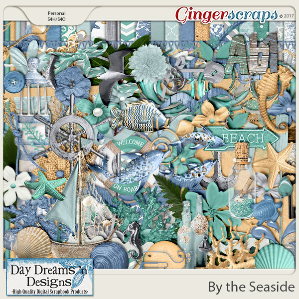 By the Seaside {Kit} by Day Dreams 'n Designs