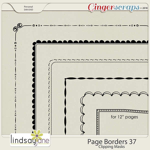 Page Borders 37 by Lindsay Jane