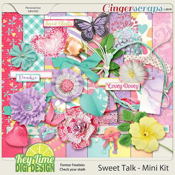Sweet Talk Mini by Key Lime Digi Design