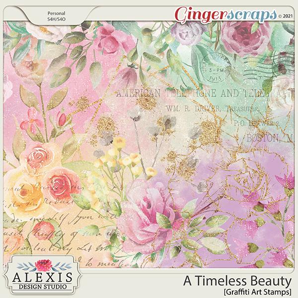 A Timeless Beauty - Graffiti Art Stamps