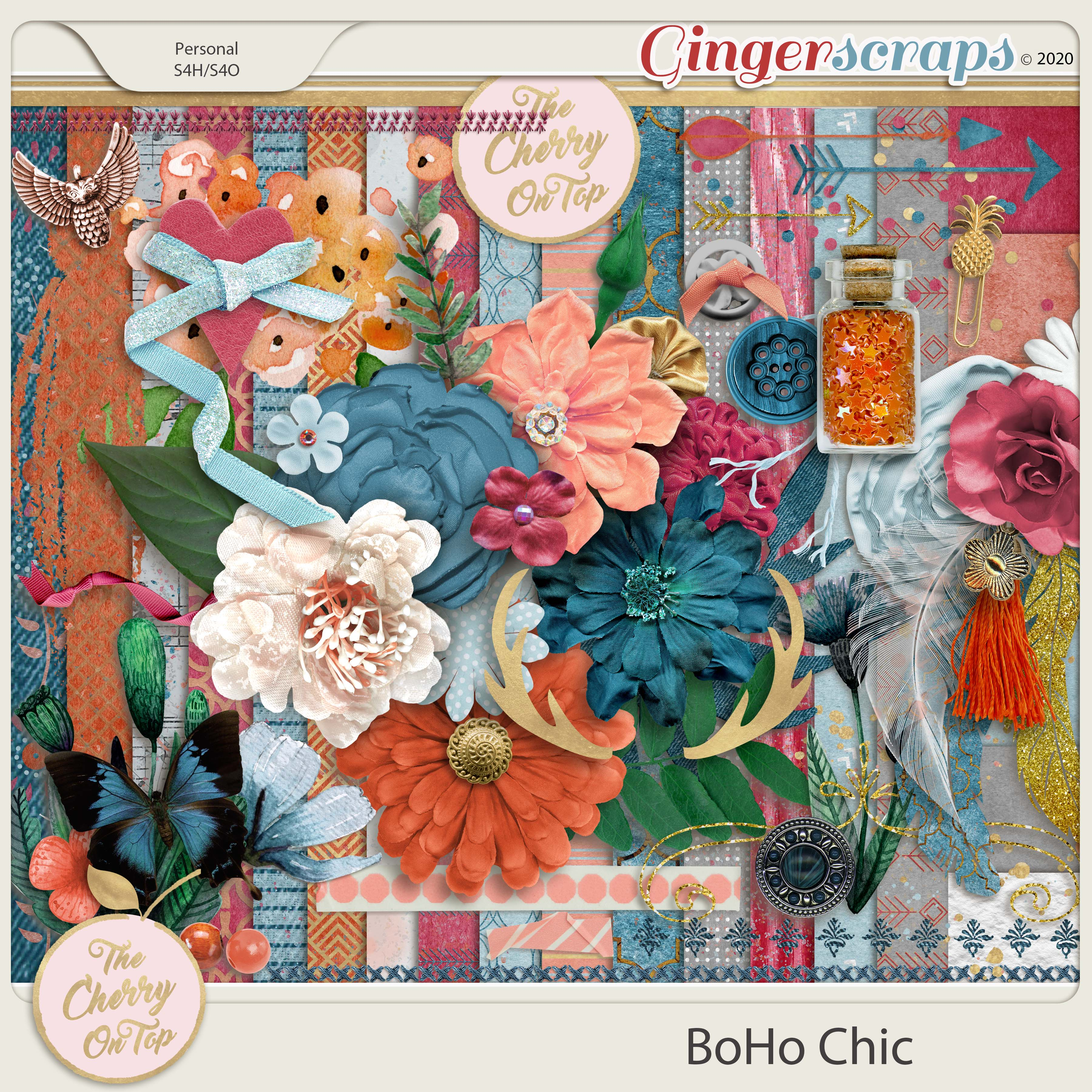 The Cherry On Top:  BoHo Chic