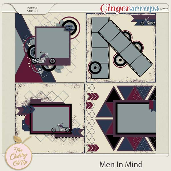 The Cherry On Top:  Men In Mind Templates