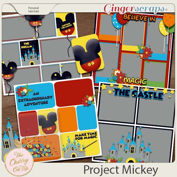 The Cherry On Top:  Project Mickey Templates