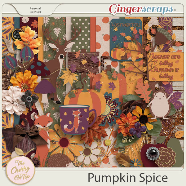 The Cherry On Top:  Pumpkin Spice Kit