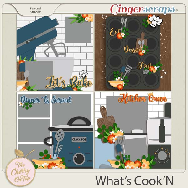 The Cherry On Top:  What's Cook'N Templates