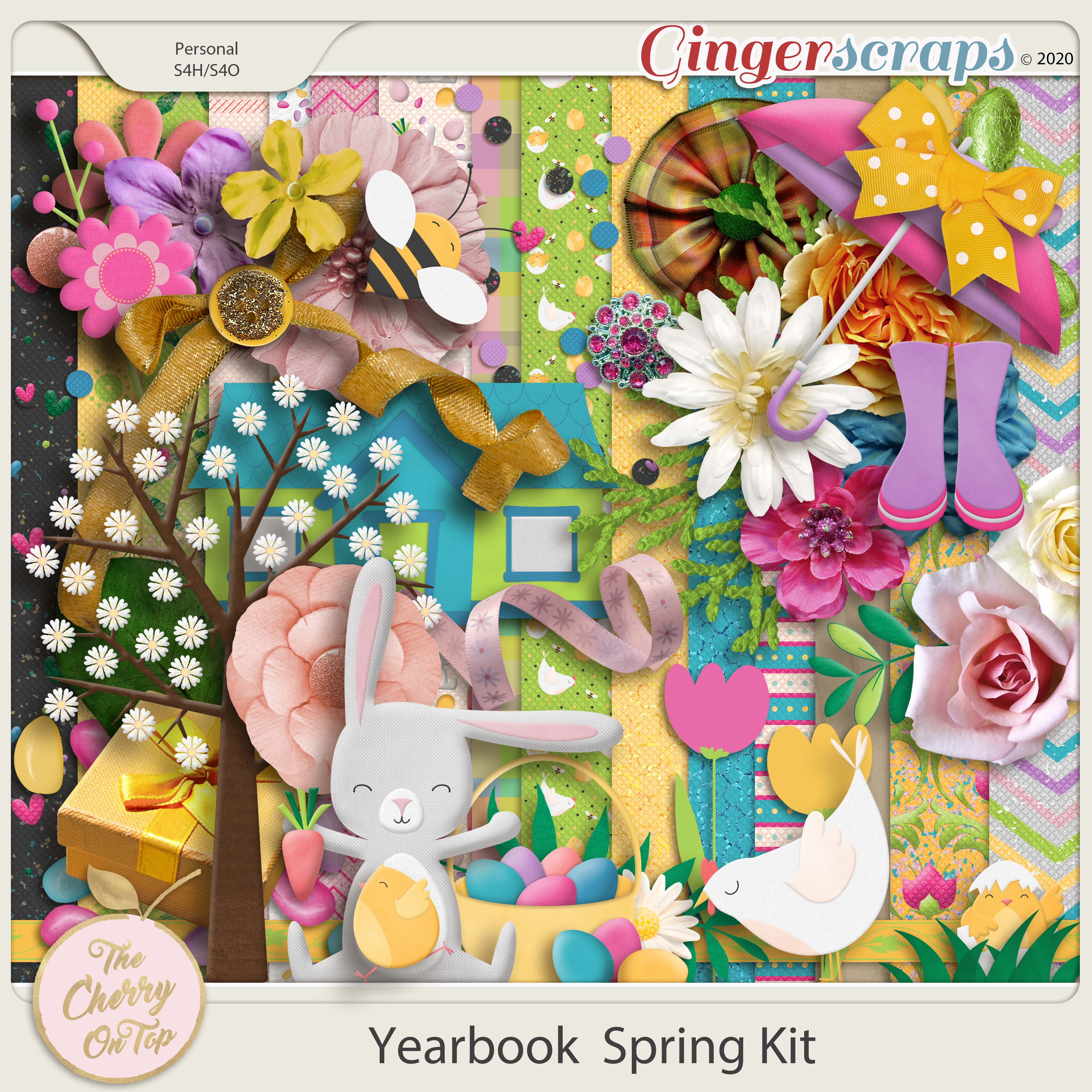 The Cherry On Top:  Yearbook Spring Pack