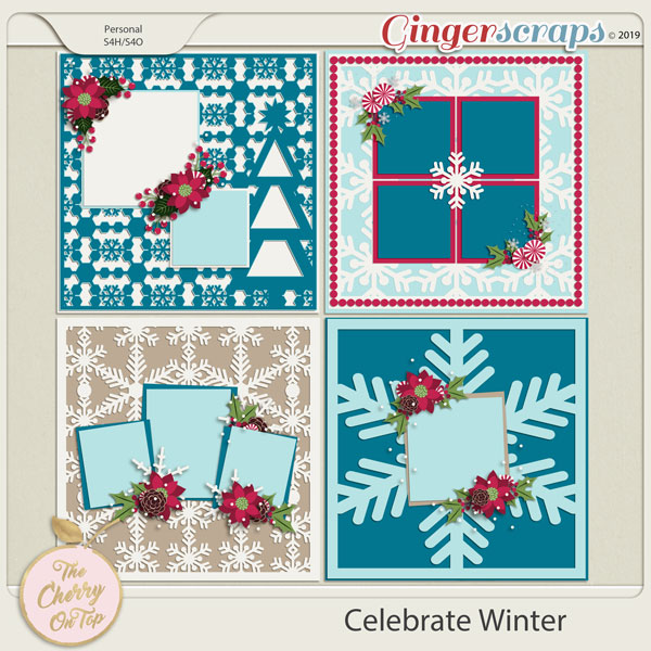 The Cherry On Top Celebrate Winter Templates