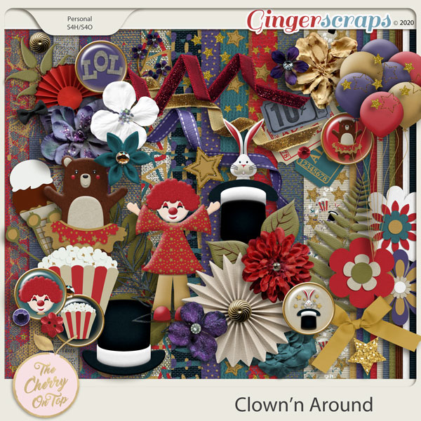 The Cherry On Top:  Clown'N Around Kit
