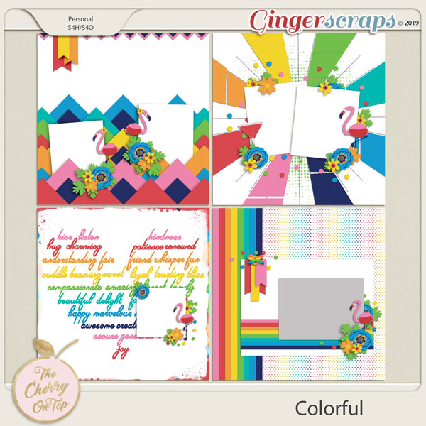 The Cherry On Top Colorful Templates