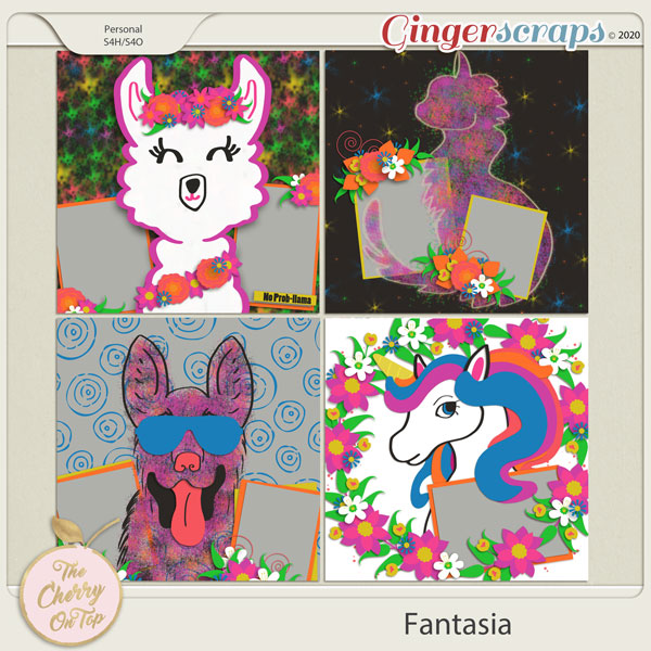 The Cherry On Top:  Fantasia Templates