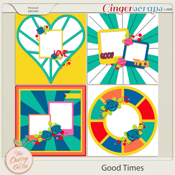 The Cherry On Top Good Times Templates