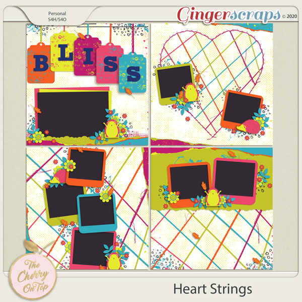 The Cherry On Top: Heart Strings Templates