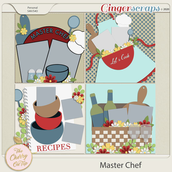 The Cherry On Top:  Master Chef Templates