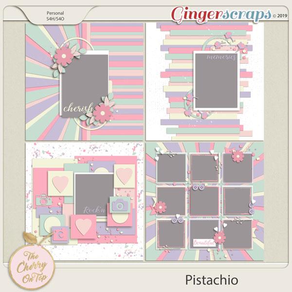 The Cherry On Top:  Pistachio Templates