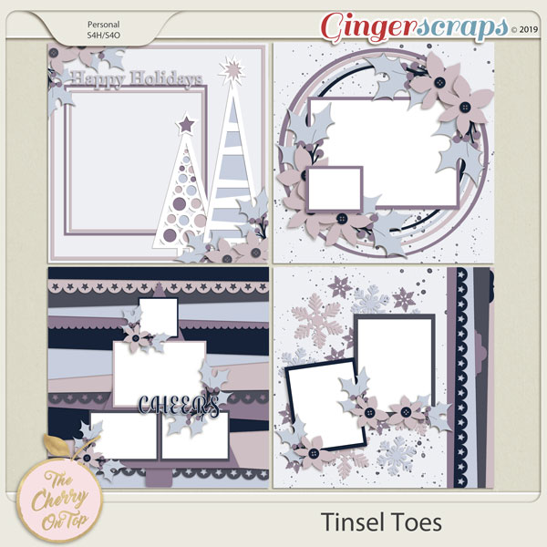 The Cherry On Top Tinsel Toes Templates