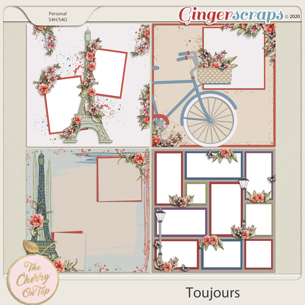 The Cherry On Top Toujours Templates