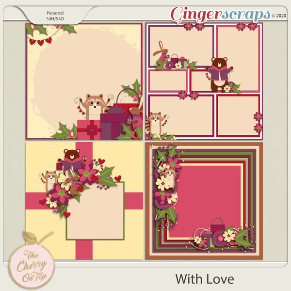 The Cherry On Top:  With Love Templates