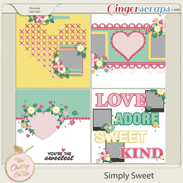The Cherry on Top:  Simply Sweet Templates