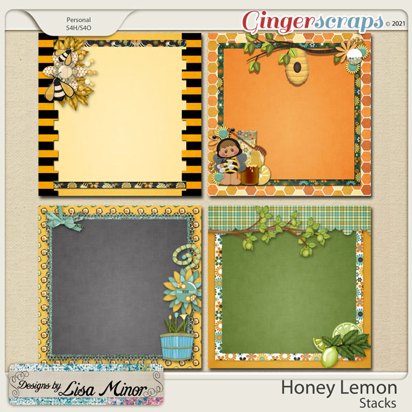 Honey Lemon Stacks from Designs by Lisa Minor
