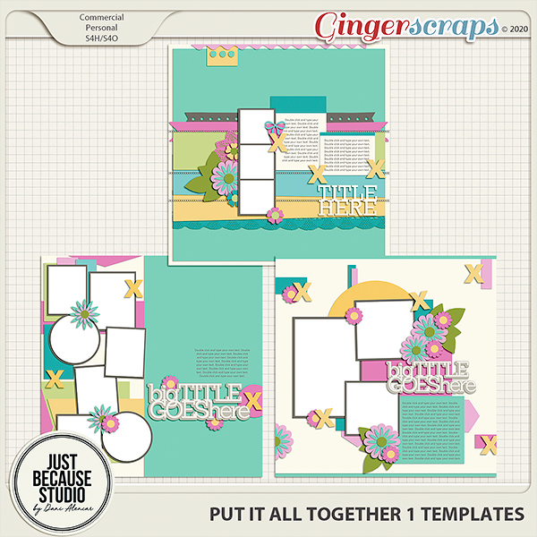 Put It All Together 1 Templates by JB Studio