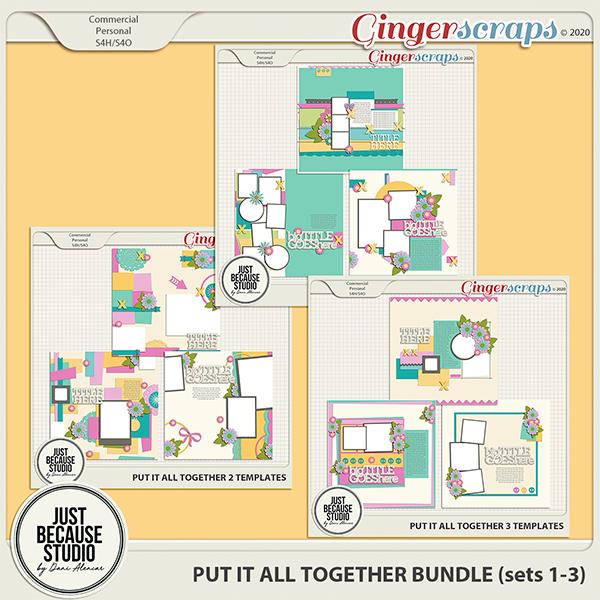 Put It All Together Bundle (sets 1-3) by JB Studio