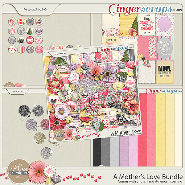 A Mother's Love Bundle by JoCee Designs