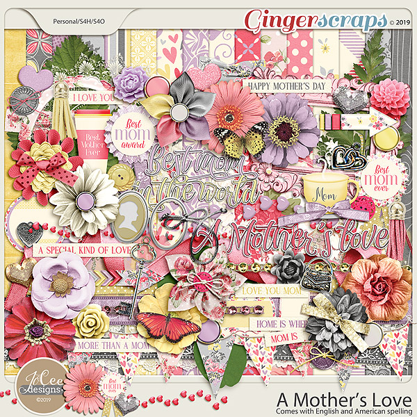 A Mother's Love Kit by JoCee Designs