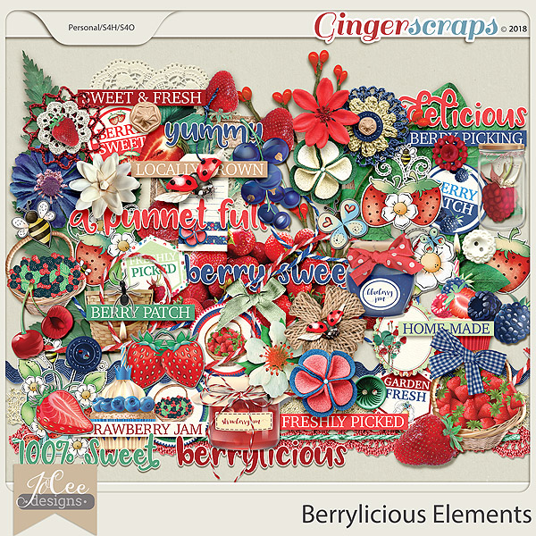 Berrylicious Elements by JoCee Designs