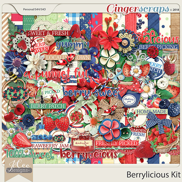 Berrylicious Kit by JoCee Designs