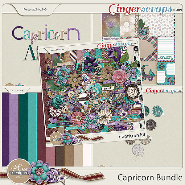 Capricorn Bundle by JoCee Designs