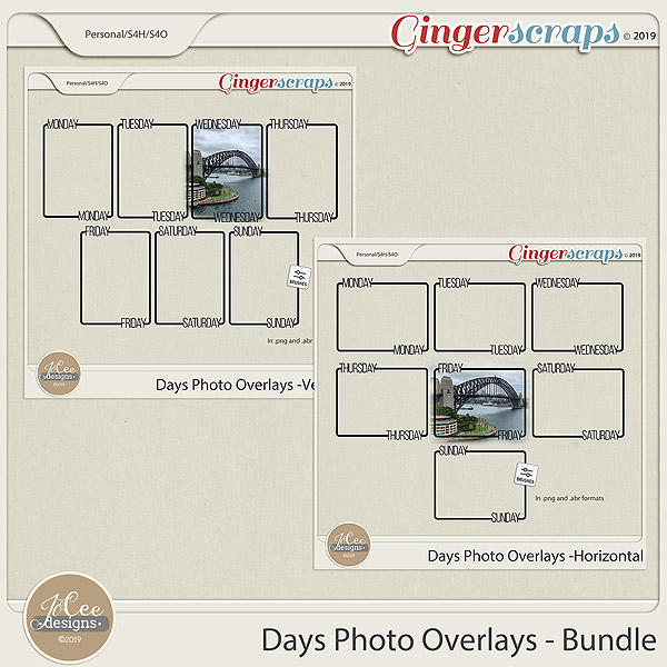 Days Photo Overlays Bundle
