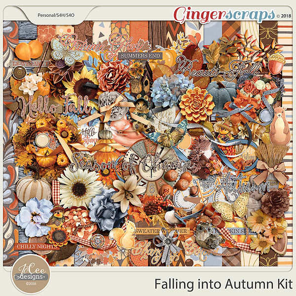 Falling into Autumn Kit by JoCee Designs